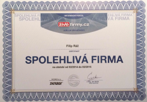certifikat 2016